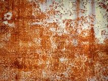Ferro arrugginito Fotografia Stock