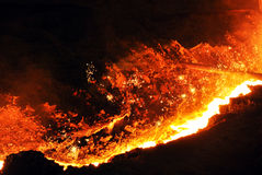 Ferro caldo Immagini Stock