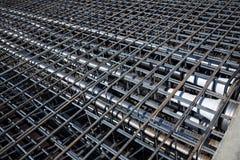 Ferro-concrete reinforcement Royalty Free Stock Images