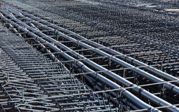 Ferro-concrete reinforcements Royalty Free Stock Image