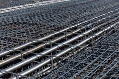 Ferro-concrete reinforcements Stock Image