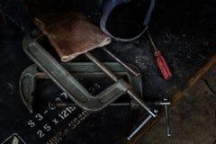 ferro da ferramenta Fotografia de Stock
