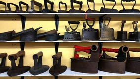 Ferro da lavanderia do vintage Imagem de Stock