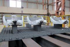Ferro de carcaça antes do processo de aquecimento foto de stock royalty free