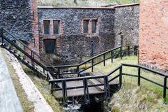 Ferro de Klenshyttan que faz fundado no início do século XVII Fotos de Stock Royalty Free