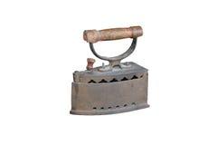 Ferro de pressão velho Fotografia de Stock