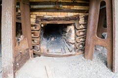 Ferro di Klenshyttan che fa fondato nell'inizio del XVII secolo Fotografia Stock