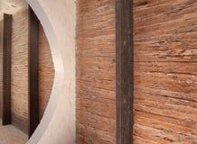 Ferro di legno della calce Fotografie Stock Libere da Diritti