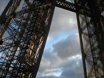 Ferro e cielo Fotografia Stock Libera da Diritti