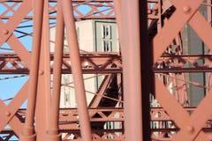 Ferro e concreto Fotos de Stock Royalty Free