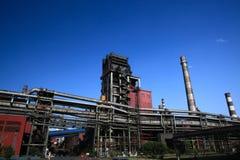 Ferro e planta de aço Imagens de Stock