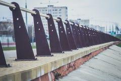 Ferro feito Limitação da liberdade Foto de Stock