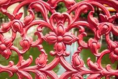 Ferro fundido da flor Foto de Stock Royalty Free