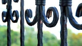 Ferro fundido e oxidação Foto de Stock Royalty Free