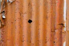 Ferro galvanizzato Fotografie Stock Libere da Diritti