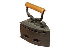 Ferro isolato arrugginito Immagine Stock