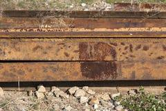 Ferro lá oxidado Imagens de Stock