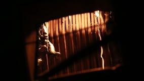 Ferro líquido da concha do metal vídeos de arquivo