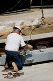 Ferro movente Foto de Stock