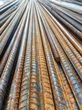 Ferro nella zona della costruzione Fotografie Stock Libere da Diritti