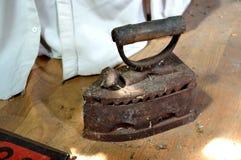 Ferro no sótão Fotos de Stock Royalty Free