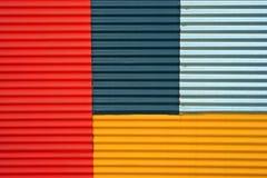 Ferro ondulado Imagens de Stock