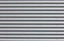 Ferro ondulado com espaços em branco Imagens de Stock