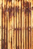 Ferro ondulato Fotografie Stock Libere da Diritti