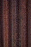 Ferro ondulato arrugginito Immagini Stock Libere da Diritti