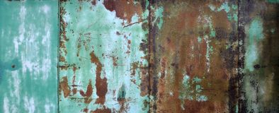 Ferro oxidado imagens de stock royalty free