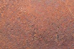 Ferro oxidado liso Fotografia de Stock Royalty Free