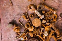 Ferro oxidado para o fundo Imagem de Stock Royalty Free