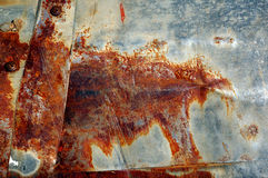 Ferro oxidado velho Fotos de Stock