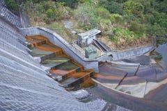 Ferro que oxida na umidade da água fotografia de stock royalty free