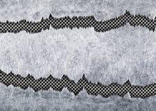 Ferro stagionato della maglia metallica lacerata di struttura come fondo illustrazione di stock