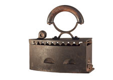 Ferro velho isolado Fotos de Stock