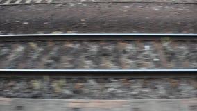 Ferrocarril almacen de metraje de vídeo