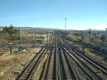 Ferrocarril 库存图片