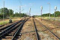 Ferrocarril. Fotografía de archivo libre de regalías