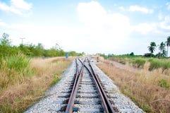 Ferrocarril Imagen de archivo libre de regalías