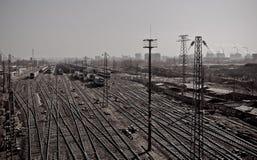 Ferrocarril Imágenes de archivo libres de regalías