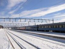 Ferrocarril Fotos de archivo libres de regalías