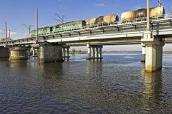 Ferrocarril. Fotos de archivo libres de regalías