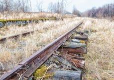 Ferrocarril abandonado viejo Imagenes de archivo