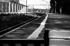 Ferrocarril británico Foto de archivo