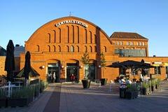 Ferrocarril central en Malmö, Suecia Imagen de archivo libre de regalías
