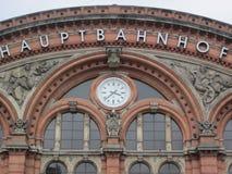 Ferrocarril central (Hauptbahnhof) Alemania Fotos de archivo libres de regalías