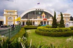 Ferrocarril central magnífico de Hua Lamphong Imágenes de archivo libres de regalías