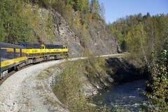 Ferrocarril de Alaska Imagenes de archivo