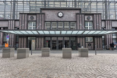 Ferrocarril de Berlín-Friedrichstrasse imagen de archivo libre de regalías